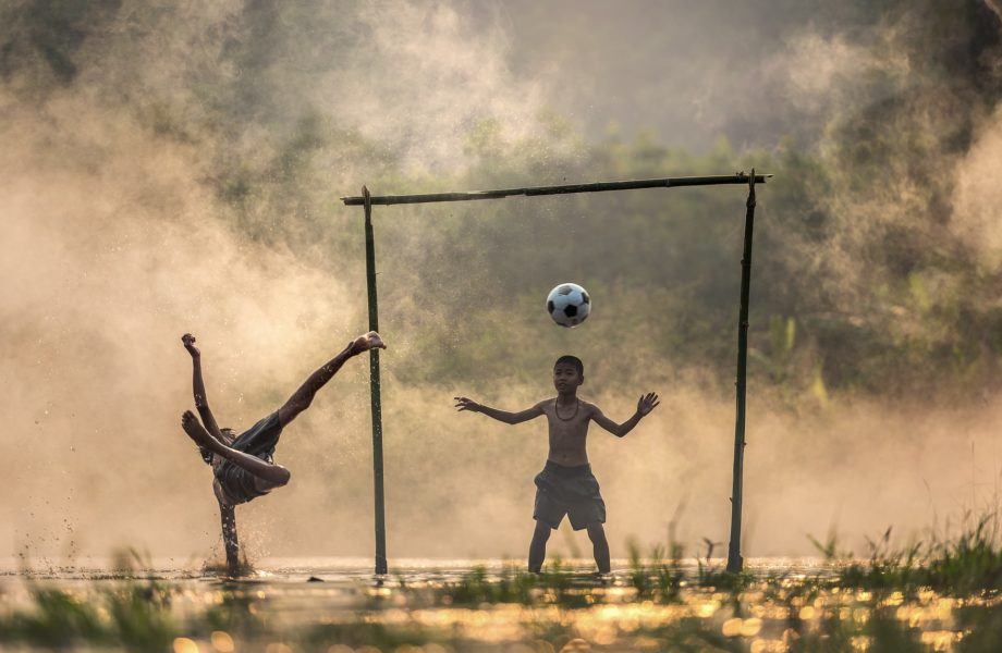 Le football, une passion fraternelle