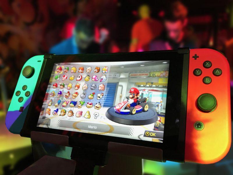 Les jeux vidéo, oui mais avec la Switch