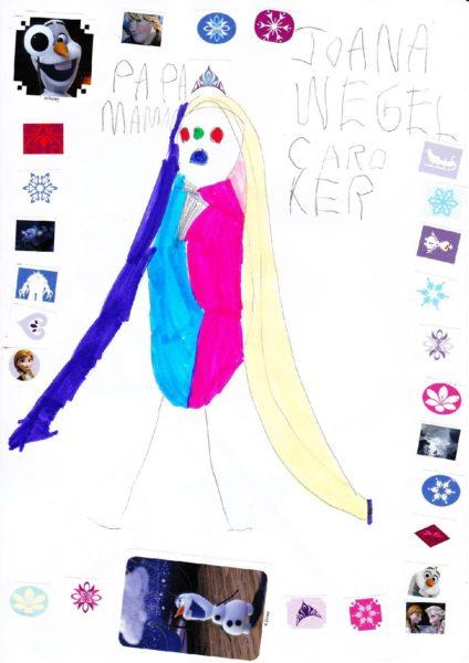 Joana dessine des princesses