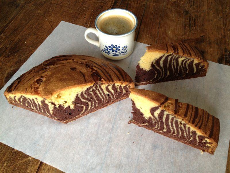 Le gâteau marbré selon Soren