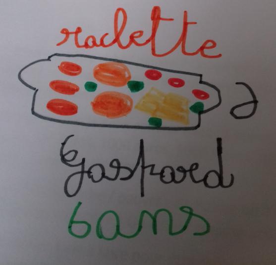 De la raclette… et de la vinaigrette !