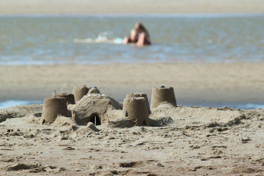 On ne s'ennuie pas à la plage !