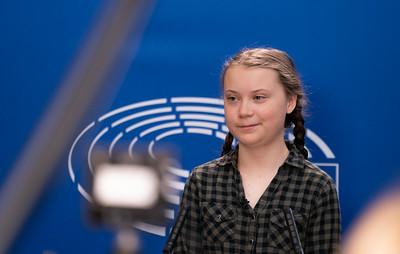 Greta Thunberg et l'environnement