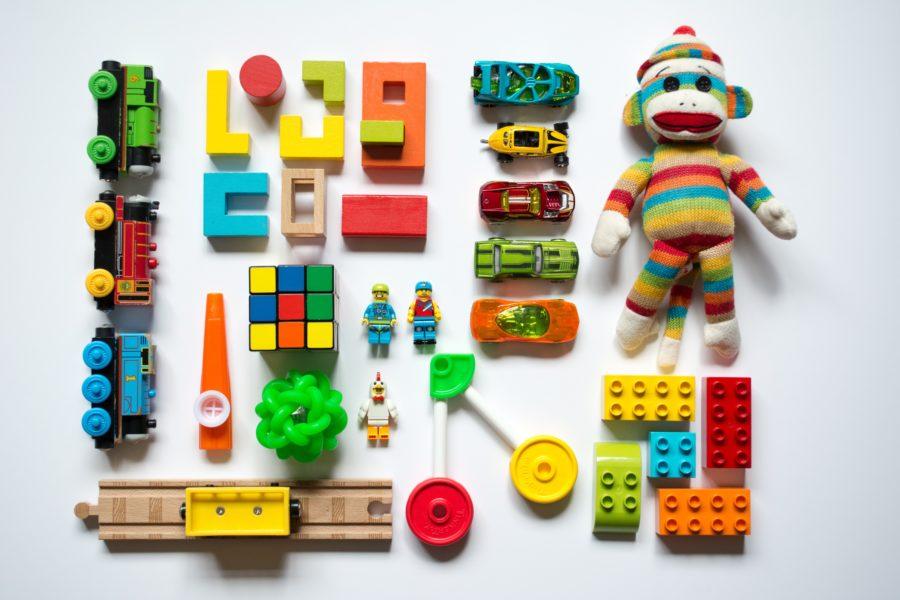 J'aime tous mes jouets !