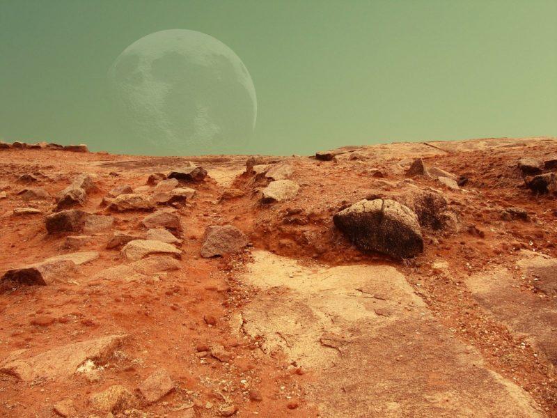 L'arrivée des humains sur Mars