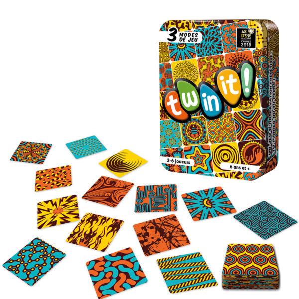 Twinit! : un jeu rapide et rigolo