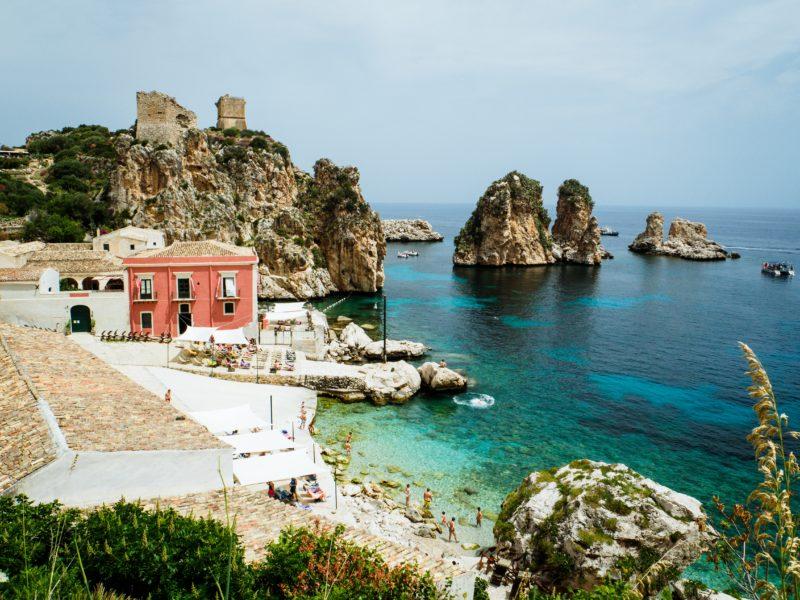 Mes vacances en Sicile
