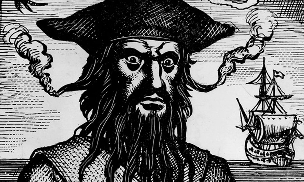 Barbe Noire, portrait d'un pirate mythique