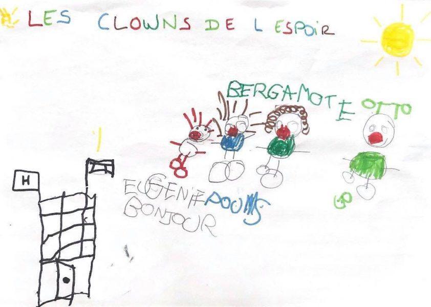 Les clowns de l'hôpital