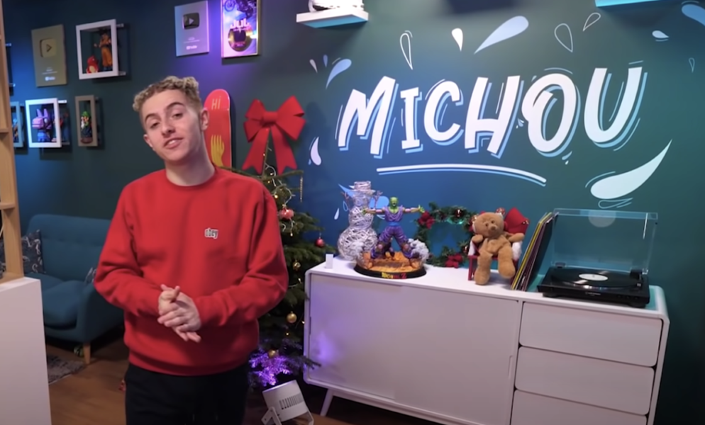 Michou le youtubeur