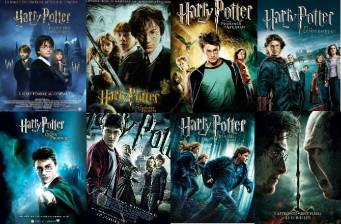 Les films Harry Potter