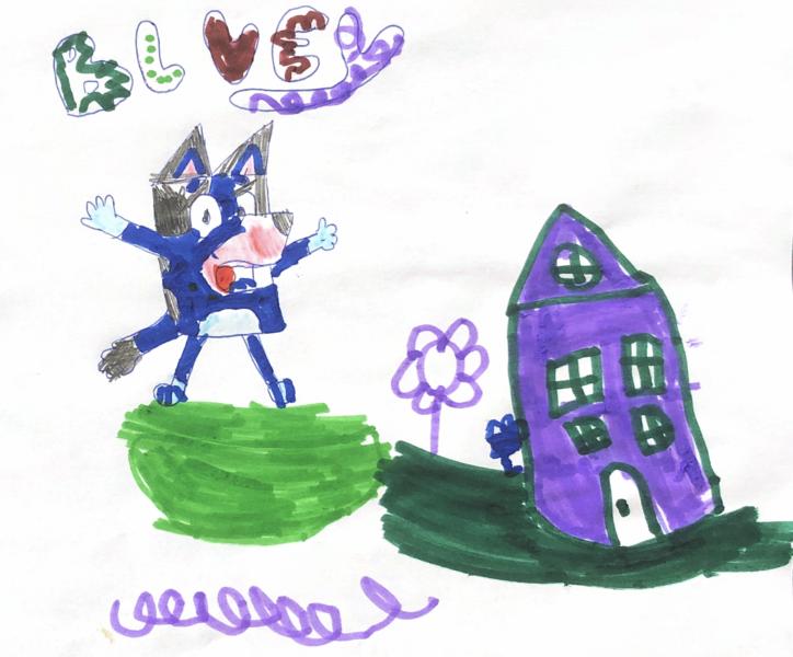 Bluey, le dessin animé